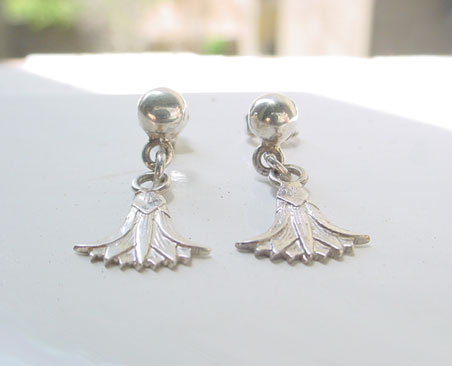 Egyptian Silver Earrings